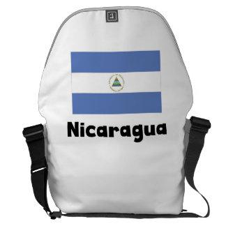 ニカラグアの旗 クーリエバッグ