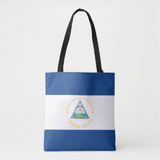 ニカラグアの旗 トートバッグ