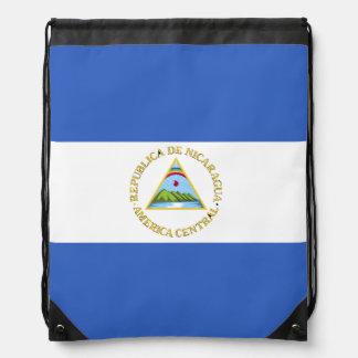 ニカラグアの旗 ナップサック