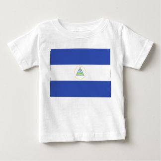 ニカラグアの旗 ベビーTシャツ