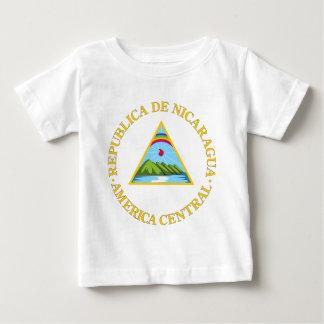 ニカラグアの紋章付き外衣 ベビーTシャツ