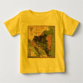 ニカラグアの1898人の役人の地図 ベビーTシャツ