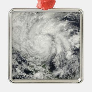 ニカラグア上のハリケーンIda メタルオーナメント