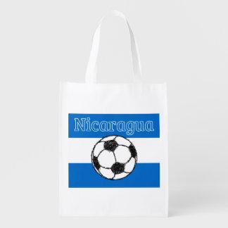 ニカラグア のフットボールの共和国 エコバッグ