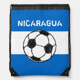 ニカラグア のフットボールの共和国 ナップサック