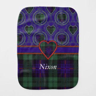 ニクソンの一族の格子縞のスコットランドのキルトのタータンチェック バープクロス
