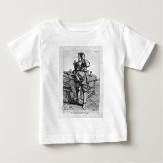 ニコラスの牧師のZabagliaの風刺漫画 ベビーTシャツ