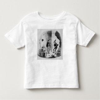 ニコラスは演技の芸術のSmikeに指示します トドラーTシャツ
