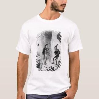ニコラスは演技の芸術のSmikeに指示します Tシャツ