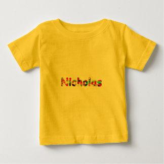 ニコラス ベビーTシャツ