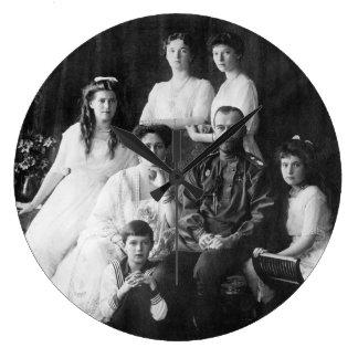 ニコラスIIおよび家族の時計 ラージ壁時計
