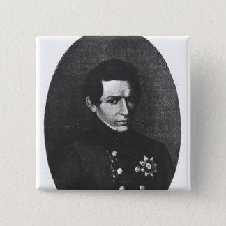 ニコラスLobatchevsky 5.1cm 正方形バッジ
