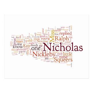 ニコラスNickelbyの生命そして冒険 ポストカード