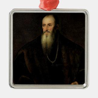 ニコラスPerrenot de Granvelle 1548年のポートレート メタルオーナメント