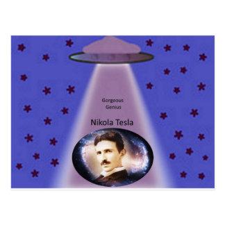 ニコラ・テスラの天才 ポストカード