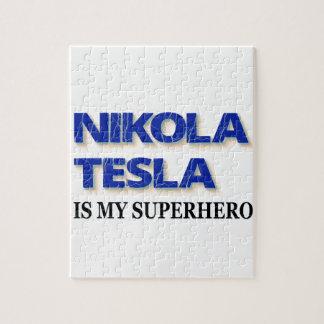 ニコラ・テスラは私のスーパーヒーローです ジグソーパズル