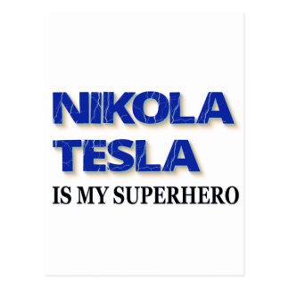 ニコラ・テスラは私のスーパーヒーローです ポストカード