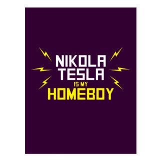ニコラ・テスラは私の同郷人です ポストカード