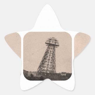 ニコラ・テスラタワー 星シール