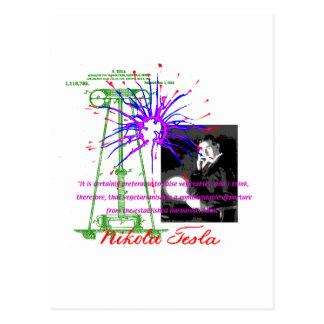 ニコラ・テスラ ポストカード