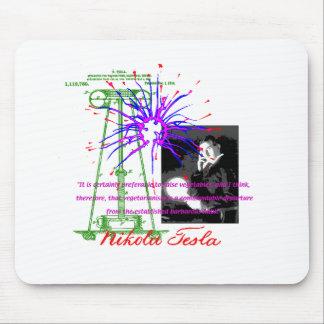 ニコラ・テスラ マウスパッド