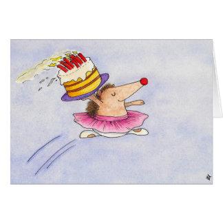 ニコールJanes著バレエの誕生日の挨拶状 カード