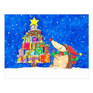 ニコールJanes著作のクリスマスツリーの郵便はがき ポストカード