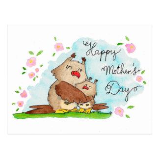 ニコールJanes著作の幸せな母の日の郵便はがき ポストカード