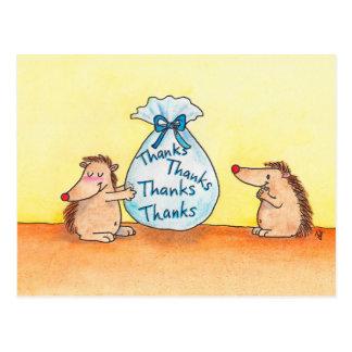ニコールJanes著作の感謝の郵便はがきを与えること ポストカード