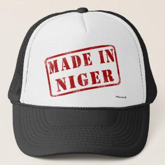 ニジェールで作られる キャップ