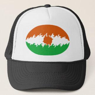 ニジェールのすごい旗の帽子 キャップ