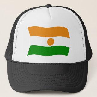 ニジェールの旗の帽子 キャップ