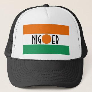 ニジェールの旗の記念品の帽子 キャップ