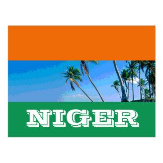 ニジェールの旗 ポストカード