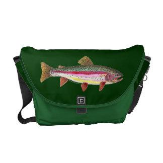 ニジマスの魚 メッセンジャーバッグ