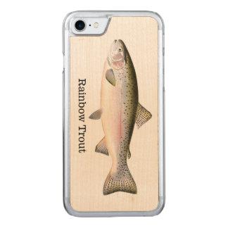 ニジマスの魚 CARVED iPhone 8/7 ケース