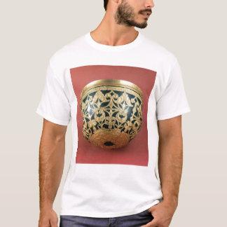 ニスをかけられたボールのためにopenwork金ゴールド tシャツ