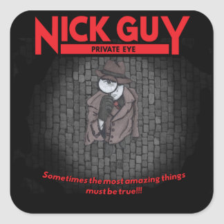 ニックの人、私立探偵 スクエアシール