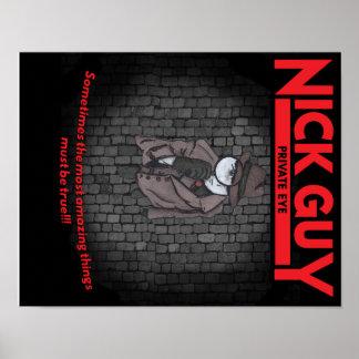 ニックの人、私立探偵 ポスター
