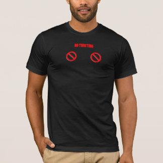 ニップルのねじれの自由地帯 Tシャツ