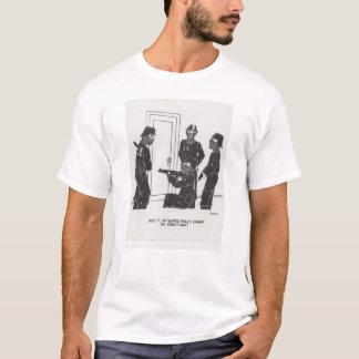 ニップルのリングの漫画 Tシャツ