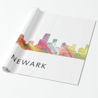 ニュアーク、ニュージャージーのスカイラインWB1 - ラッピングペーパー