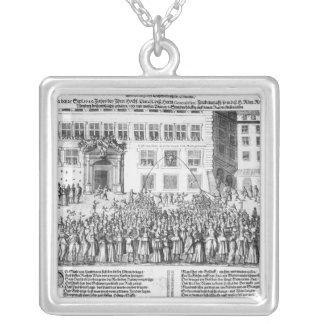 ニュルンベルクの平和、1649年9月25日 シルバープレートネックレス
