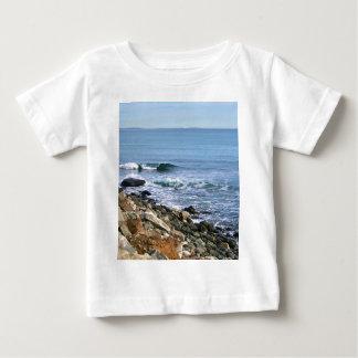 ニューイングランドの波 ベビーTシャツ