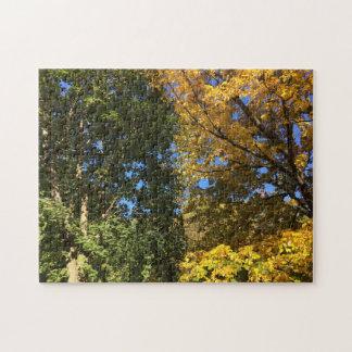 ニューイングランドの秋のジグソーパズル ジグソーパズル