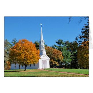 ニューイングランドの秋 カード