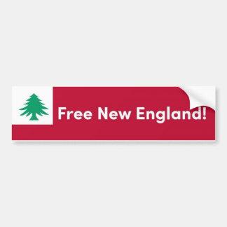 ニューイングランドの自由なバンパーステッカー バンパーステッカー