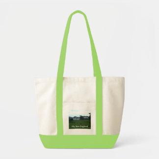 ニューイングランドの農場場面バッグ トートバッグ