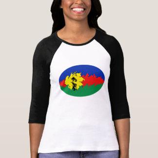 ニューカレドニアのすごい旗のTシャツ TEE シャツ