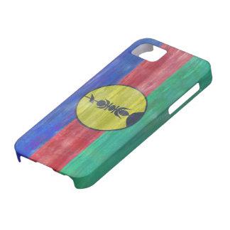 ニューカレドニアの動揺してで新しいCaledonian旗 iPhone SE/5/5s ケース